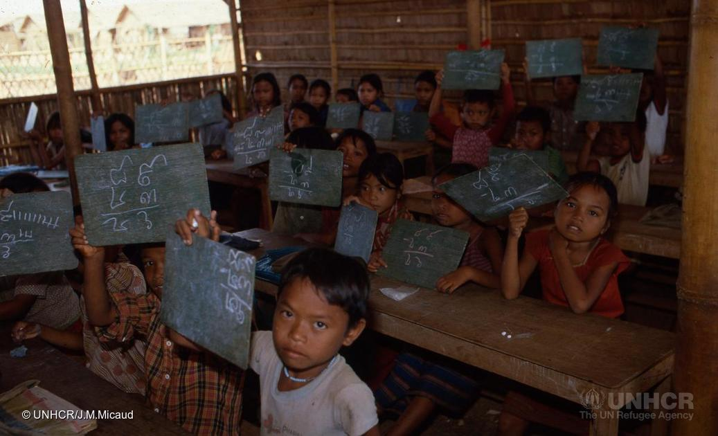 Cambodian refugees, 1981