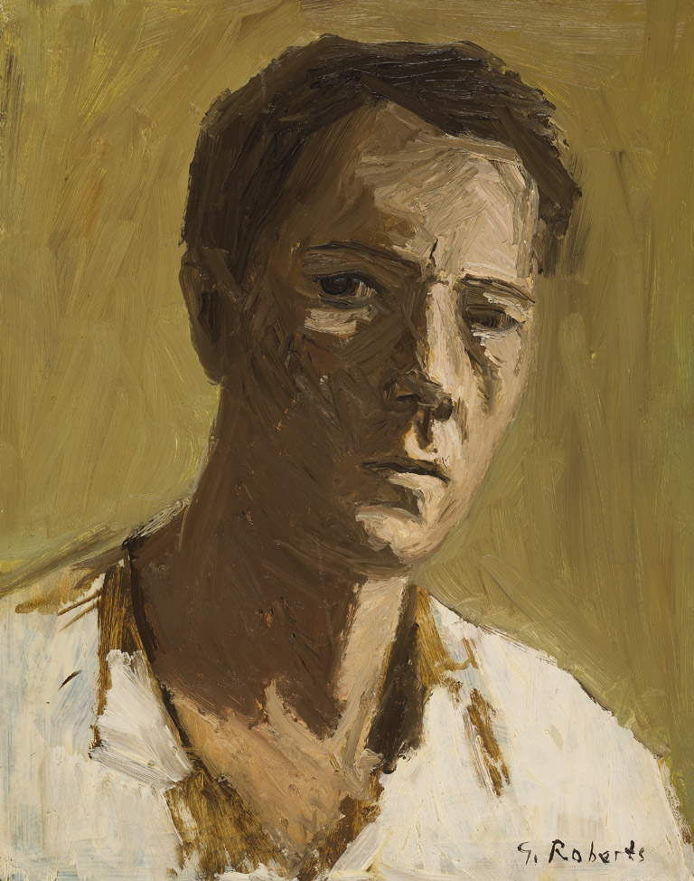 Goodridge Roberts, Self-portrait, c. 1950.